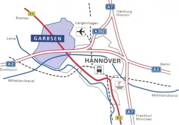 Verkehrsanbindung Garbsen-Mitte